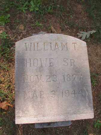 HOWE, SR, WILLIAM T - Pulaski County, Arkansas | WILLIAM T HOWE, SR - Arkansas Gravestone Photos