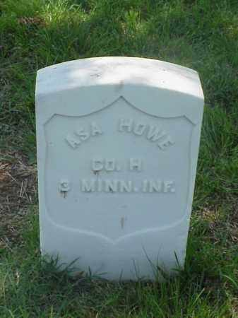 HOWE (VETERAN UNION), ASA - Pulaski County, Arkansas | ASA HOWE (VETERAN UNION) - Arkansas Gravestone Photos