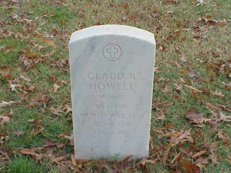 HOWELL  (VETERAN 2 WARS), CLAUD R - Pulaski County, Arkansas | CLAUD R HOWELL  (VETERAN 2 WARS) - Arkansas Gravestone Photos