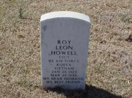 HOWELL  (VETERAN 2 WARS), ROY LEON - Pulaski County, Arkansas | ROY LEON HOWELL  (VETERAN 2 WARS) - Arkansas Gravestone Photos