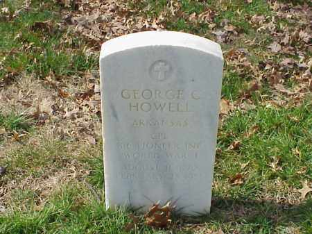 HOWELL  (VETERAN WWI), GEORGE C - Pulaski County, Arkansas | GEORGE C HOWELL  (VETERAN WWI) - Arkansas Gravestone Photos