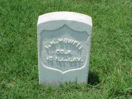 HOWELL (VETERAN UNION), I H - Pulaski County, Arkansas | I H HOWELL (VETERAN UNION) - Arkansas Gravestone Photos