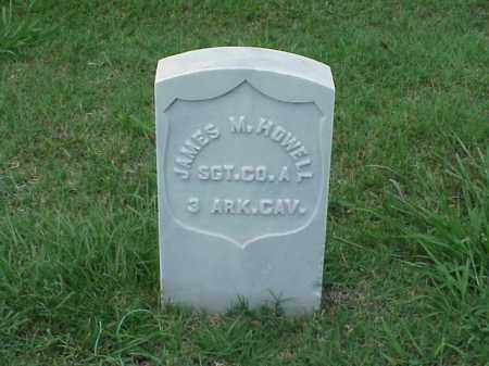 HOWELL (VETERAN UNION), JAMES M - Pulaski County, Arkansas | JAMES M HOWELL (VETERAN UNION) - Arkansas Gravestone Photos