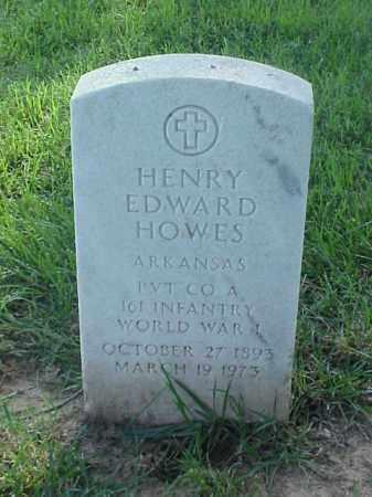 HOWES (VETERAN WWI), HENRY EDWARD - Pulaski County, Arkansas | HENRY EDWARD HOWES (VETERAN WWI) - Arkansas Gravestone Photos