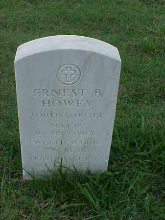 HOWEY (VETERAN 2 WARS), ERNEST B - Pulaski County, Arkansas | ERNEST B HOWEY (VETERAN 2 WARS) - Arkansas Gravestone Photos