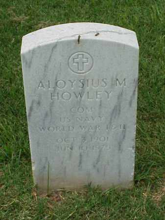 HOWLEY (VETERAN 2 WARS), ALOYSIUS M - Pulaski County, Arkansas | ALOYSIUS M HOWLEY (VETERAN 2 WARS) - Arkansas Gravestone Photos