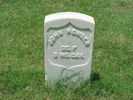 HOWSER (VETERAN UNION), JOHN - Pulaski County, Arkansas | JOHN HOWSER (VETERAN UNION) - Arkansas Gravestone Photos