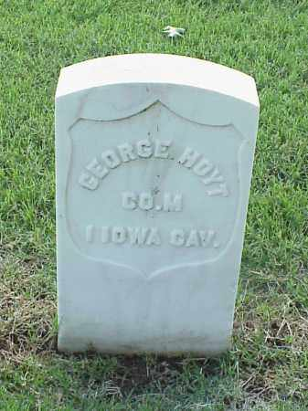 HOYT (VETERAN UNION), GEORGE - Pulaski County, Arkansas | GEORGE HOYT (VETERAN UNION) - Arkansas Gravestone Photos