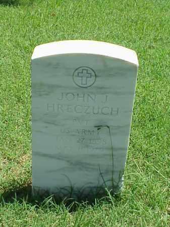 HRECZUCH (VETERAN), JOHN J - Pulaski County, Arkansas | JOHN J HRECZUCH (VETERAN) - Arkansas Gravestone Photos