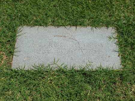 HRINDA (VETERAN 3 WARS), GEORGE J - Pulaski County, Arkansas | GEORGE J HRINDA (VETERAN 3 WARS) - Arkansas Gravestone Photos