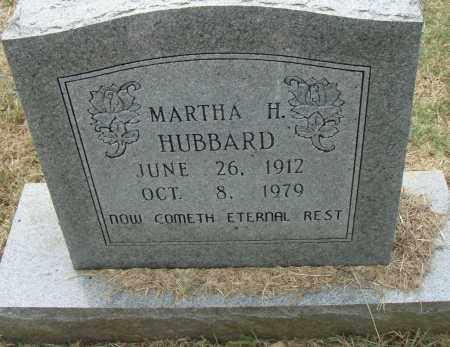 HUBBARD, MARTHA H. - Pulaski County, Arkansas | MARTHA H. HUBBARD - Arkansas Gravestone Photos
