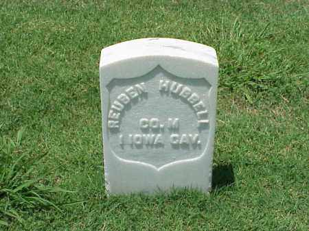 HUBBELL (VETERAN UNION), REUBEN - Pulaski County, Arkansas | REUBEN HUBBELL (VETERAN UNION) - Arkansas Gravestone Photos