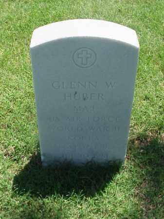 HUBER (VETERAN 2 WARS), GLENN W - Pulaski County, Arkansas | GLENN W HUBER (VETERAN 2 WARS) - Arkansas Gravestone Photos