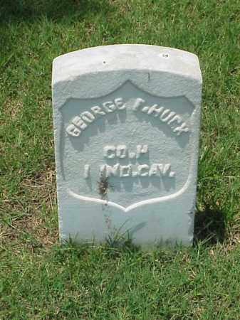 HUCK (VETERAN UNION), GEORGE F - Pulaski County, Arkansas | GEORGE F HUCK (VETERAN UNION) - Arkansas Gravestone Photos