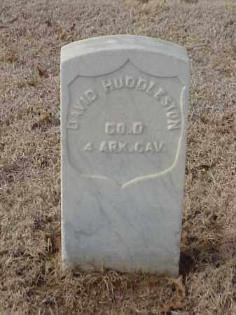HUDDLESTON  (VETERAN UNION), DAVID - Pulaski County, Arkansas | DAVID HUDDLESTON  (VETERAN UNION) - Arkansas Gravestone Photos