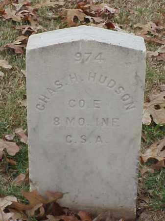 HUDSON  (VETERAN CSA), CHARLES H - Pulaski County, Arkansas | CHARLES H HUDSON  (VETERAN CSA) - Arkansas Gravestone Photos