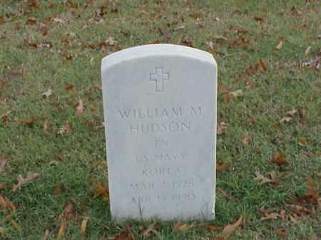 HUDSON  (VETERAN KOR), WILLIAM M - Pulaski County, Arkansas | WILLIAM M HUDSON  (VETERAN KOR) - Arkansas Gravestone Photos