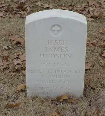 HUDSON  (VETERAN WWI), JESSE JAMES - Pulaski County, Arkansas | JESSE JAMES HUDSON  (VETERAN WWI) - Arkansas Gravestone Photos