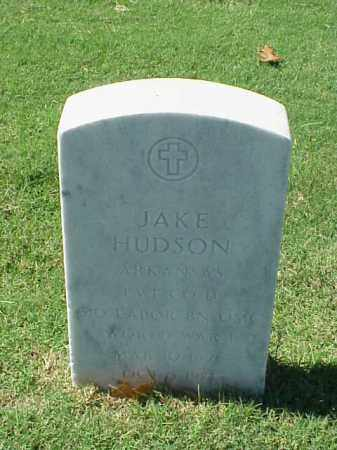 HUDSON  (VETERAN WWI), JAKE - Pulaski County, Arkansas | JAKE HUDSON  (VETERAN WWI) - Arkansas Gravestone Photos