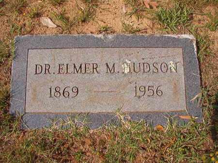 HUDSON, DR, ELMER M - Pulaski County, Arkansas | ELMER M HUDSON, DR - Arkansas Gravestone Photos