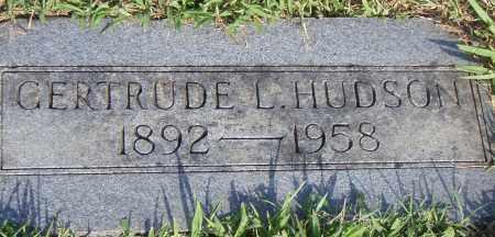 HUDSON, GERTRUDE  L. - Pulaski County, Arkansas   GERTRUDE  L. HUDSON - Arkansas Gravestone Photos