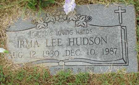 HUDSON, IRMA LEE - Pulaski County, Arkansas | IRMA LEE HUDSON - Arkansas Gravestone Photos