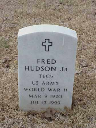 HUDSON, JR  (VETERAN WWII), FRED - Pulaski County, Arkansas | FRED HUDSON, JR  (VETERAN WWII) - Arkansas Gravestone Photos