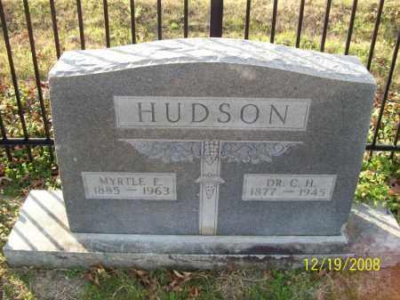 HUDSON, MYRTLE E - Pulaski County, Arkansas | MYRTLE E HUDSON - Arkansas Gravestone Photos