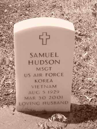 HUDSON (VETERAN 2 WARS), SAMUEL - Pulaski County, Arkansas | SAMUEL HUDSON (VETERAN 2 WARS) - Arkansas Gravestone Photos