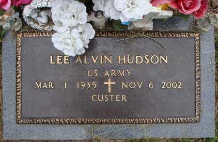 HUDSON (VETERAN), LEE ALVIN - Pulaski County, Arkansas | LEE ALVIN HUDSON (VETERAN) - Arkansas Gravestone Photos