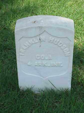 HUDSON (VETERAN UNION), FRANKLIN - Pulaski County, Arkansas | FRANKLIN HUDSON (VETERAN UNION) - Arkansas Gravestone Photos