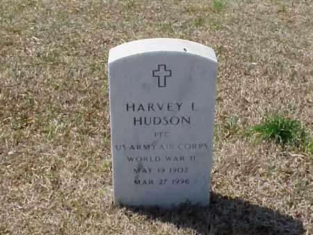 HUDSON (VETERAN WWII), HARVEY L - Pulaski County, Arkansas | HARVEY L HUDSON (VETERAN WWII) - Arkansas Gravestone Photos