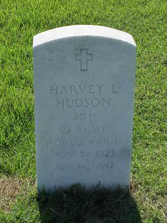 HUDSON (VETERAN WWII), HARVEY L - Pulaski County, Arkansas | HARVEY L HUDSON (VETERAN WWII) - Arkansas Gravestone Photos
