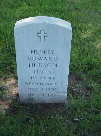 HUDSON (VETERAN WWII), HENRY EDWARD - Pulaski County, Arkansas | HENRY EDWARD HUDSON (VETERAN WWII) - Arkansas Gravestone Photos