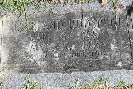 HUDSPETH, CLEVELAND - Pulaski County, Arkansas | CLEVELAND HUDSPETH - Arkansas Gravestone Photos