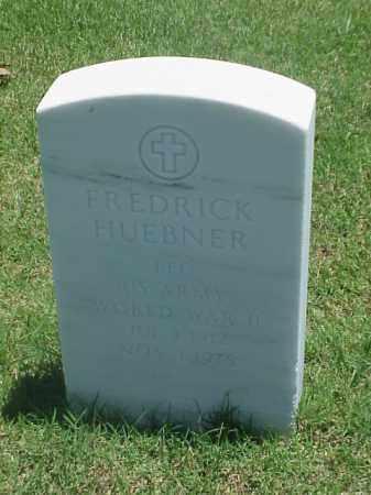 HUEBNER (VETERAN WWII), FREDRICK - Pulaski County, Arkansas | FREDRICK HUEBNER (VETERAN WWII) - Arkansas Gravestone Photos