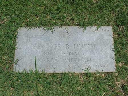 HUETT (VETERAN 2 WARS), DENVER R - Pulaski County, Arkansas   DENVER R HUETT (VETERAN 2 WARS) - Arkansas Gravestone Photos