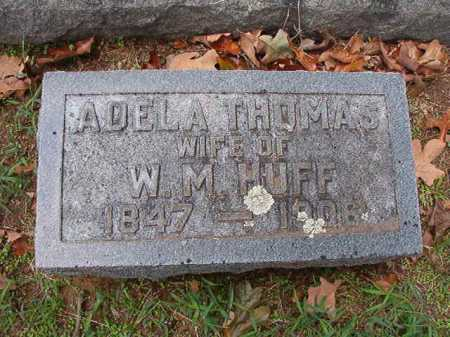 THOMAS HUFF, ADELA - Pulaski County, Arkansas | ADELA THOMAS HUFF - Arkansas Gravestone Photos