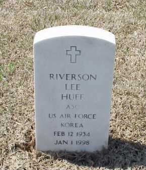 HUFF (VETERAN KOR), RIVERSON LEE - Pulaski County, Arkansas | RIVERSON LEE HUFF (VETERAN KOR) - Arkansas Gravestone Photos
