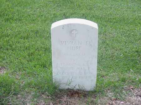 HUFF (VETERAN WWI), VIVIAN E - Pulaski County, Arkansas | VIVIAN E HUFF (VETERAN WWI) - Arkansas Gravestone Photos