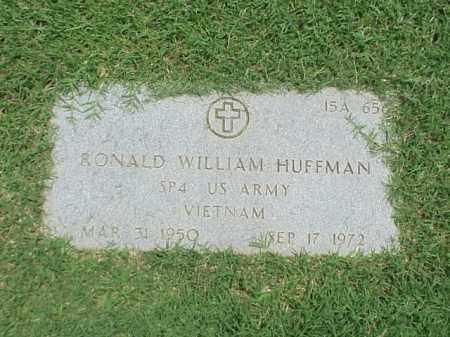 HUFFMAN (VETERAN VIET), RONALD WILLIAM - Pulaski County, Arkansas | RONALD WILLIAM HUFFMAN (VETERAN VIET) - Arkansas Gravestone Photos