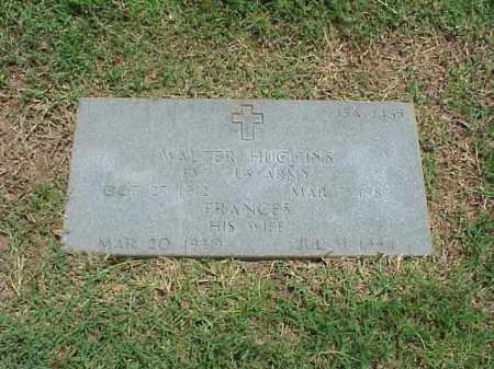HUGGINS, FRANCES - Pulaski County, Arkansas | FRANCES HUGGINS - Arkansas Gravestone Photos
