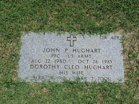 HUGHART (VETERAN WWII), JOHN P - Pulaski County, Arkansas | JOHN P HUGHART (VETERAN WWII) - Arkansas Gravestone Photos