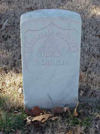 HUGHES  (VETERAN UNION), HEZEKIAH - Pulaski County, Arkansas | HEZEKIAH HUGHES  (VETERAN UNION) - Arkansas Gravestone Photos