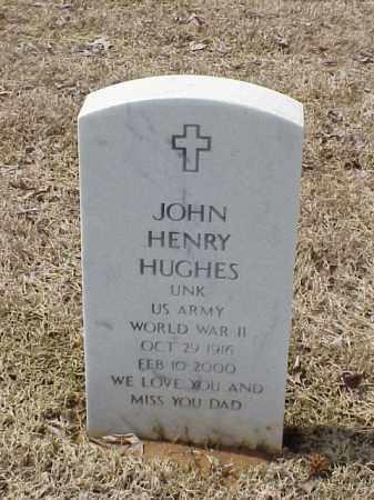HUGHES  (VETERAN WWII), JOHN HENRY - Pulaski County, Arkansas | JOHN HENRY HUGHES  (VETERAN WWII) - Arkansas Gravestone Photos