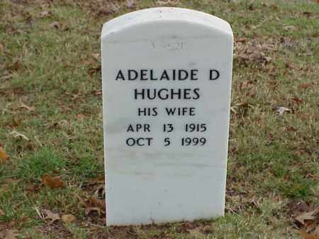 HUGHES, ADELAIDE D. - Pulaski County, Arkansas | ADELAIDE D. HUGHES - Arkansas Gravestone Photos