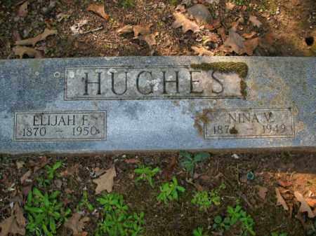 HUGHES, ELIJAH F - Pulaski County, Arkansas | ELIJAH F HUGHES - Arkansas Gravestone Photos
