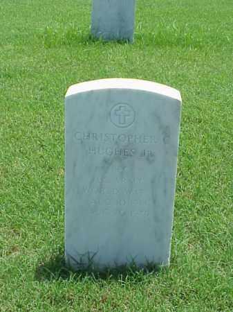 HUGHES, JR (VETERAN WWII), CHRISTOPHER C - Pulaski County, Arkansas | CHRISTOPHER C HUGHES, JR (VETERAN WWII) - Arkansas Gravestone Photos