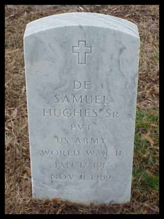 HUGHES, SR (VETERAN WWII), DE SAMUEL - Pulaski County, Arkansas | DE SAMUEL HUGHES, SR (VETERAN WWII) - Arkansas Gravestone Photos