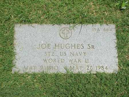 HUGHES, SR (VETERAN WWII), JOE - Pulaski County, Arkansas | JOE HUGHES, SR (VETERAN WWII) - Arkansas Gravestone Photos
